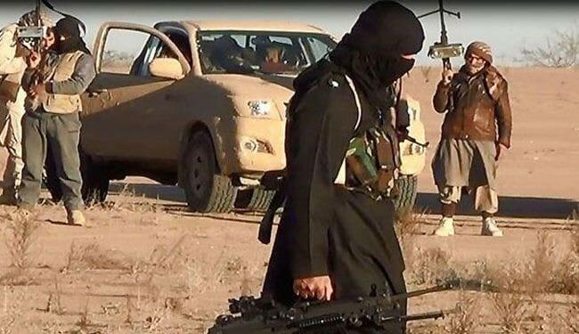 """مسلحون من جماعة """"داعش"""" الارهابية"""