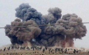 قصف-طيران-الاحتلال-الروسي-على-مناطق-في-سوريا-ارشيف