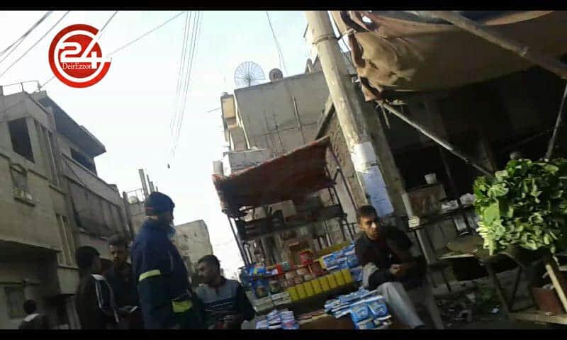 Photo of حالة الأسواق اليوم في أحياء ديرالزور المحاصرة(صور)