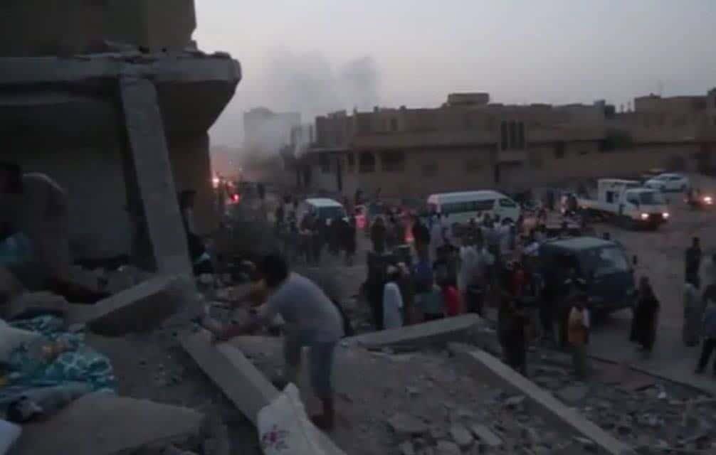 Photo of أكثر من 25 شهيداً مدنياً في مجزرة البوكمال وقتيل واحد فقط من صفوف داعش