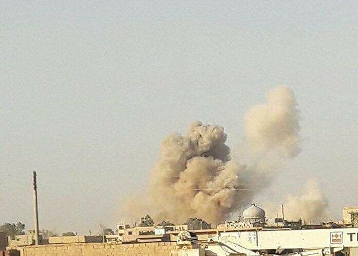 Photo of شهداء وجرحى نتيجة قصف الطيران الحربي لريف ديرالزور