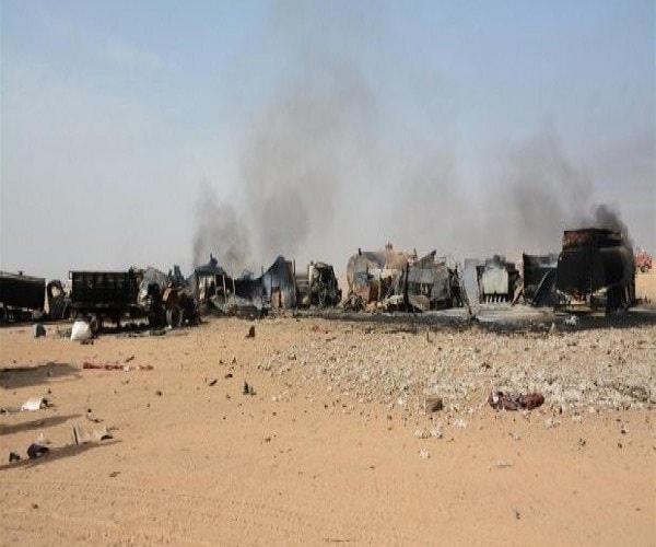 Photo of مفخخات داعش تستهدف المدنيين النازحين في قرية أبو النيتل