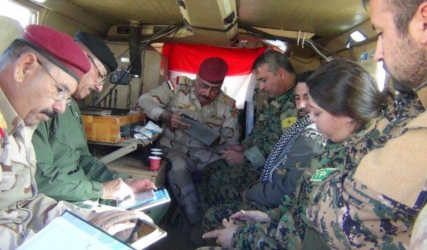 Photo of قوات قسد والجيش العراقي يتفقان على إقامة مركز تنسيق مشترك لضبط أمن الحدود في المناطق الواقعة بمحافظة ديرالزور