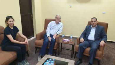 Photo of لقاء بين السفير الأمريكي وممثل التحالف مع الرئيس المشترك لمجلس ديرالزور المدني